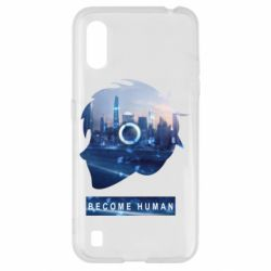 Чохол для Samsung A01/M01 Silhouette City Detroit: Become Human