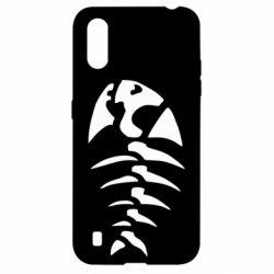 Чехол для Samsung A01/M01 скелет рыбки