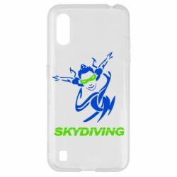 Чохол для Samsung A01/M01 Skidiving