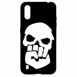 Чехол для Samsung A01/M01 Skull and Fist