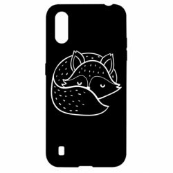 Чохол для Samsung A01/M01 Sleeping fox
