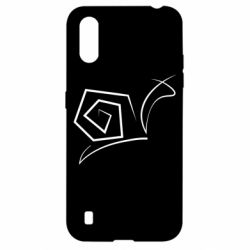 Чехол для Samsung A01/M01 Snail minimalism