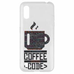 Чохол для Samsung A01/M01 Сoffee code