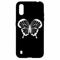 Чехол для Samsung A01/M01 Soft butterfly