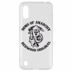 Чехол для Samsung A01/M01 Sons of Anarchy