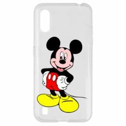 Чохол для Samsung A01/M01 Сool Mickey Mouse