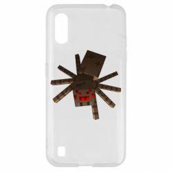 Чехол для Samsung A01/M01 Spider from Minecraft