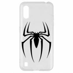 Чехол для Samsung A01/M01 Spider Man Logo