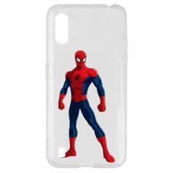 Чохол для Samsung A01/M01 Spiderman in costume
