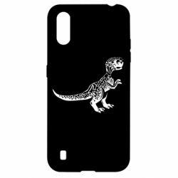 Чохол для Samsung A01/M01 Spotted baby dinosaur