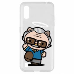Чохол для Samsung A01/M01 Stan lee in hello kitty style