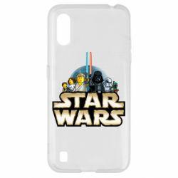 Чохол для Samsung A01/M01 Star Wars Lego
