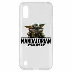 Чехол для Samsung A01/M01 Star Wars Yoda beby