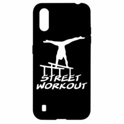 Чохол для Samsung A01/M01 Street workout