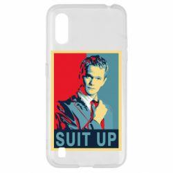 Чехол для Samsung A01/M01 Suit up!