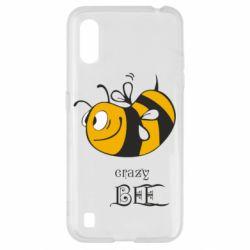 Чехол для Samsung A01/M01 Сумасшедшая пчелка