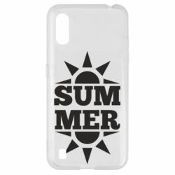 Чехол для Samsung A01/M01 Summer and sun