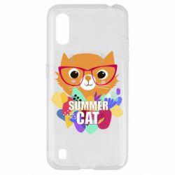 Чохол для Samsung A01/M01 Summer cat