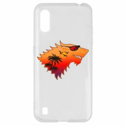 Чехол для Samsung A01/M01 Summer Wolf with glasses Game of Thrones