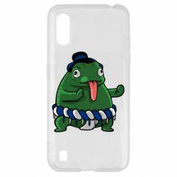 Чехол для Samsung A01/M01 Sumo toad