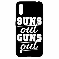 Чехол для Samsung A01/M01 Suns out guns out
