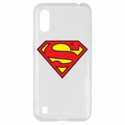 Чехол для Samsung A01/M01 Superman Symbol