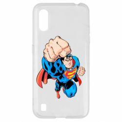 Чохол для Samsung A01/M01 Супермен Комікс