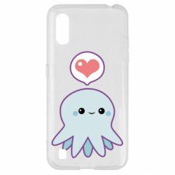 Чехол для Samsung A01/M01 Sweet Octopus
