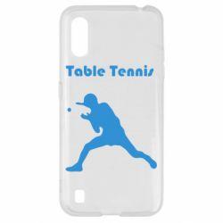 Чохол для Samsung A01/M01 Table Tennis Logo