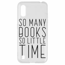 Чохол для Samsung A01/M01 Так багато книг так мало часу
