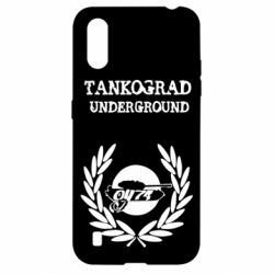 Чохол для Samsung A01/M01 Tankograd Underground