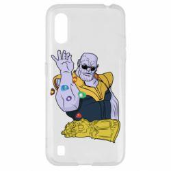 Чохол для Samsung A01/M01 Thanos Art