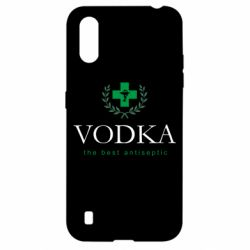 Чехол для Samsung A01/M01 The best antiseptik Vodka