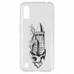 Чохол для Samsung A01/M01 The castle is on the skull