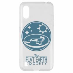 Чехол для Samsung A01/M01 The flat earth society