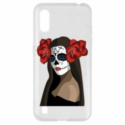 Чохол для Samsung A01/M01 The girl in the image of the day of the dead
