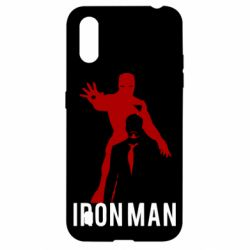 Чехол для Samsung A01/M01 The Invincible Iron Man