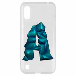 Чехол для Samsung A01/M01 The letter a is cubic