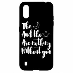 Чохол для Samsung A01/M01 The moon and the stars are nothing without you
