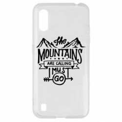 Чохол для Samsung A01/M01 The mountains are calling must go