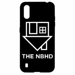Чехол для Samsung A01/M01 THE NBHD Logo
