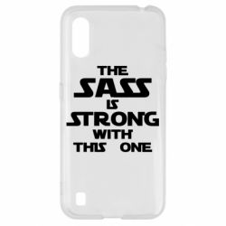 Чохол для Samsung A01/M01 The sass is strong with this one