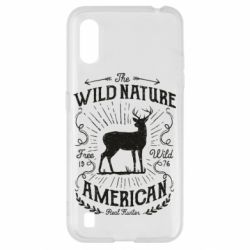 Чохол для Samsung A01/M01 The wild nature