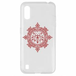 Чохол для Samsung A01/M01 The Witcher Wolf and Pattern