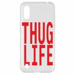 Чехол для Samsung A01/M01 thug life