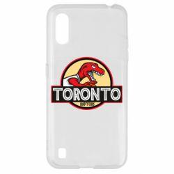 Чехол для Samsung A01/M01 Toronto raptors park