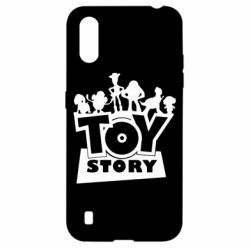 Чехол для Samsung A01/M01 Toy Story and heroes