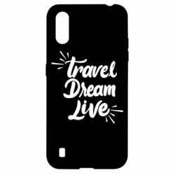 Чехол для Samsung A01/M01 Travel Dream Live