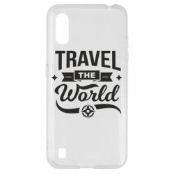 Чехол для Samsung A01/M01 Travel the world and compass
