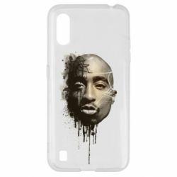 Чехол для Samsung A01/M01 Tupac Shakur